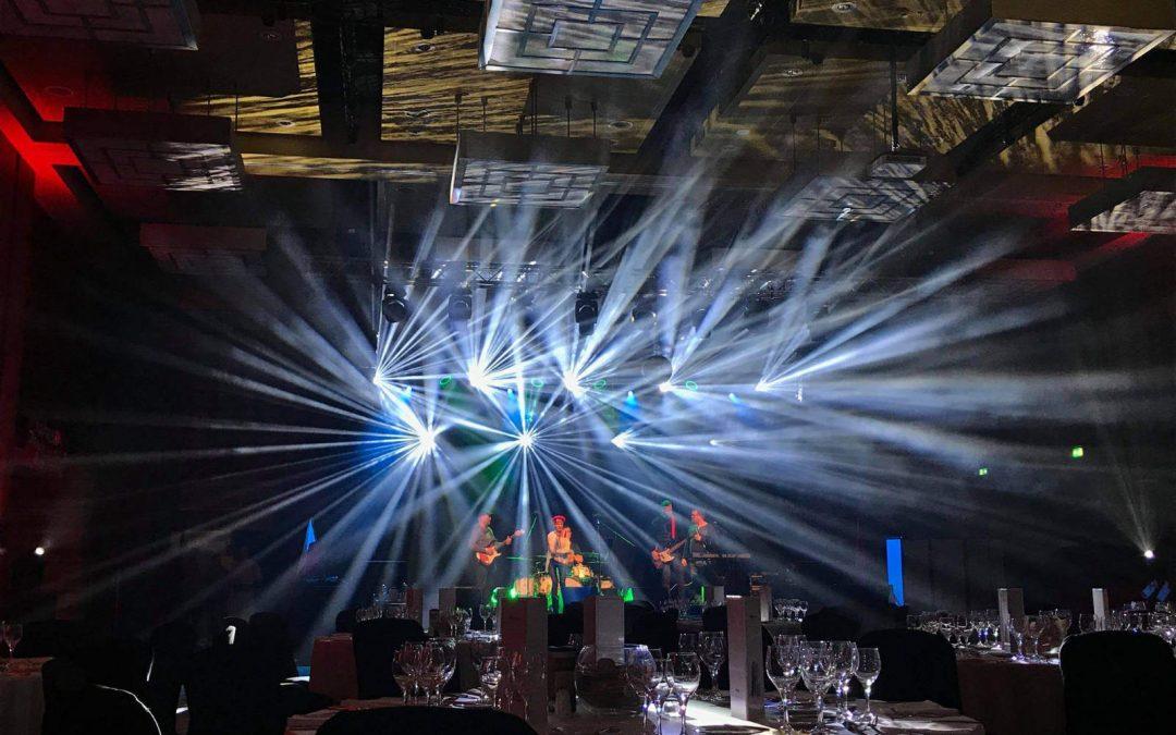 Dźwięk i oświetlenie w The Westin Warsaw.