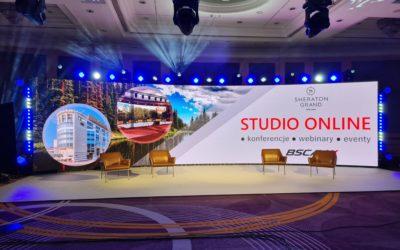 Otwieramy nowe studio dla wydarzeń online i hybrydowych w hotelu Sheraton